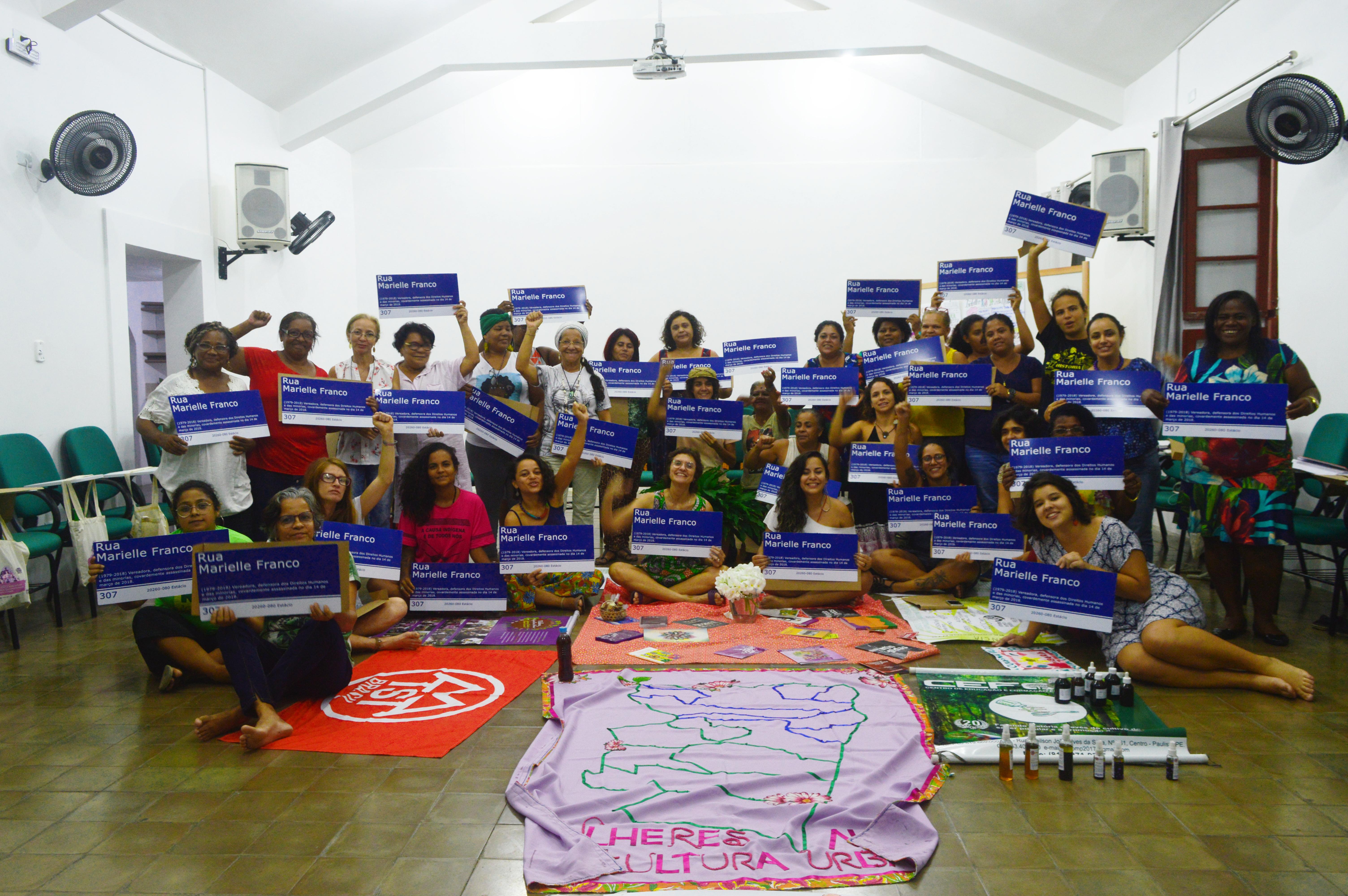 II Encontro de Mulheres e Agricultura Urbana debate economia feminista e direito à cidade