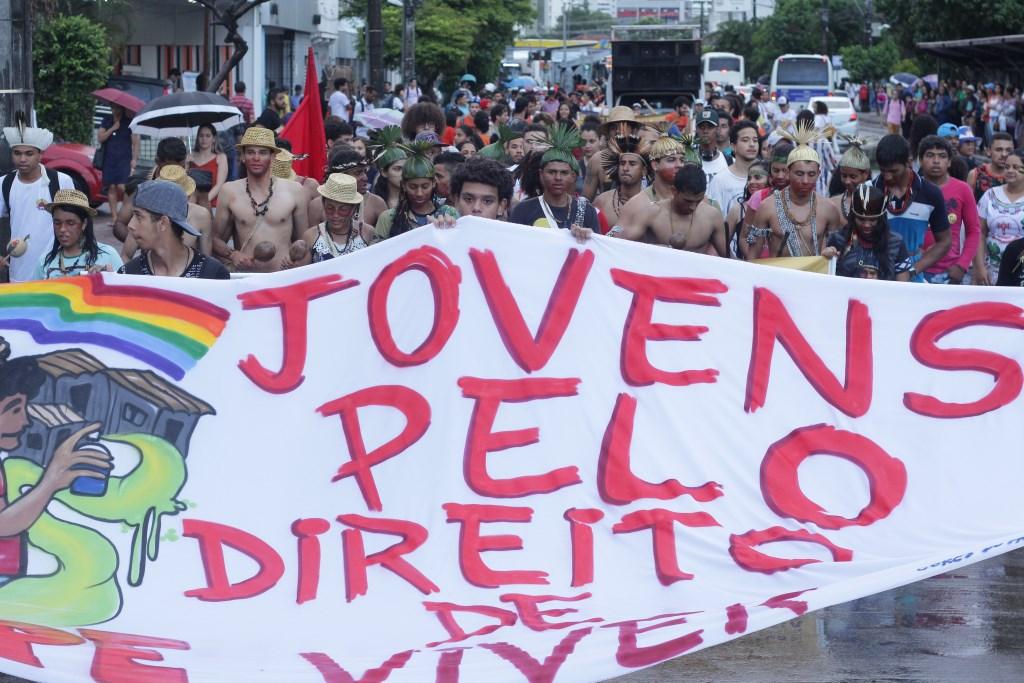 III Ato Agosto das Juventudes: Jovens do campo e da cidade vão às ruas contra o fascismo e pela democracia