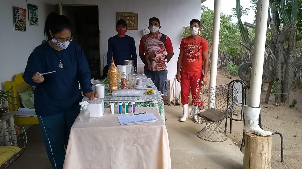 Testes de transgenia são realizados para preservar as sementes crioulas no Sertão do Pajeú