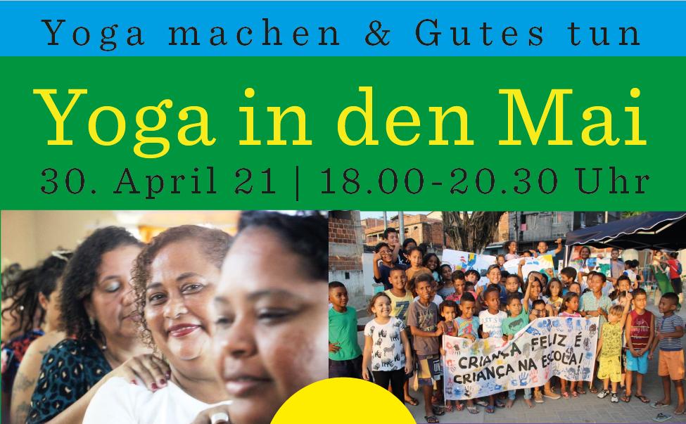 Aula de Yoga solidária [só em alemão]